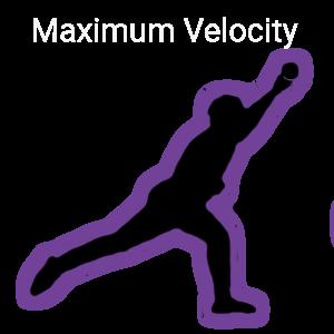 Maximum Velocity-Baseball Pitcher pitching