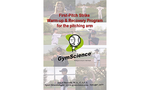 First-Pitch Strike Warm-up and Recovery Program DVD with Added Features