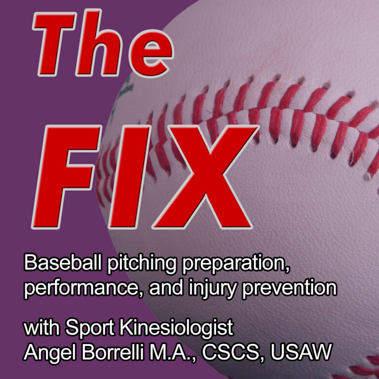 S8E13 – Split-finger Fastballs and Knuckle-Curves: use the gym to train your pitches